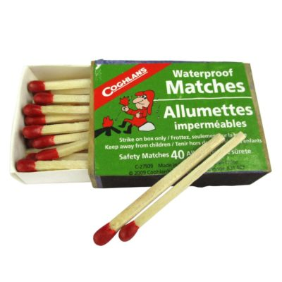 Waterproof Matches -Singles